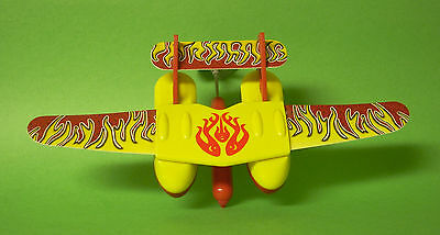 Kinder Surprise Large Egg -  Wind up rubber band Float Plane