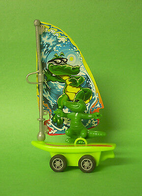 Kinder Surprise Large Egg - Windsurfing Alligator