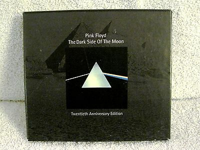 Rare - Pink Floyd -The Dark Side Of The Moon 20Th Anniversary Edition Cd Box Set