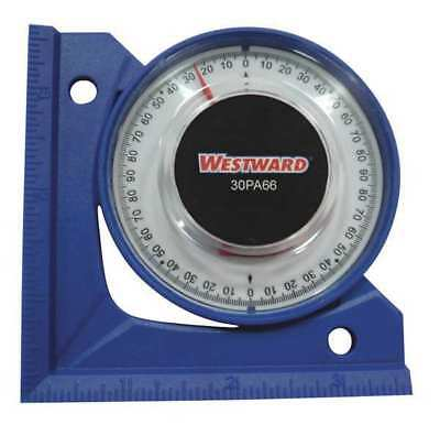 Angle Finder, 90 Degrees, Blue, Westward, 30PA68