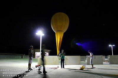 One (1) GIANT Weather Balloon Meteorological Military 8' Dia. Free U.S. shipping