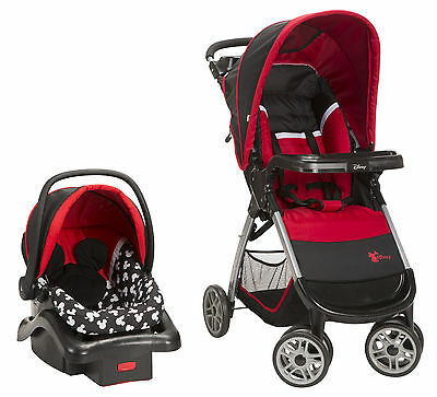 Disney Mickey Mouse Stroller and Car Seat Travel System New