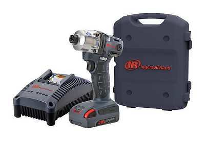 INGERSOLL-RAND W5111-K1 Cordless Impact Driver Kit, 20.0V, 1/4 in.