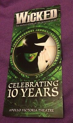 Wicked 10th Anniversary Flyer