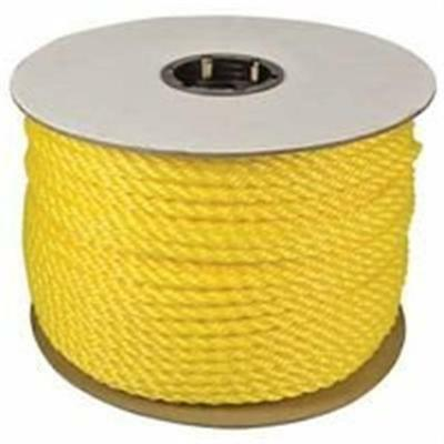 Orion Ropeworks Inc 0.25 in. X 600 ft. Twisted Polylite Yellow