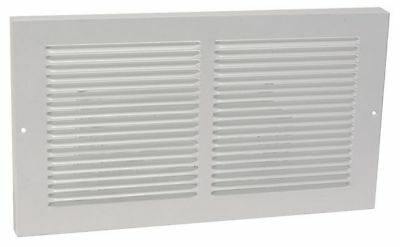 4MJW3 Return Air Baseboard Grille, 8x14 In