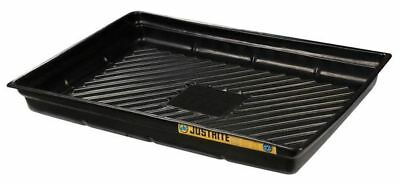 JUSTRITE 28719 Spill Tray, 5-1/2 In. H, 47 In. L, 33 In. W