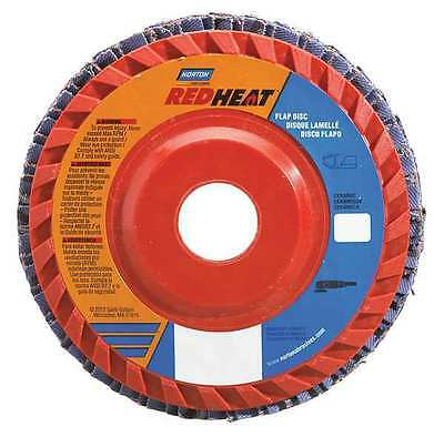 NORTON 63642504876 Flap Disc, 4 1/2 In x 36 Grit, 7/8