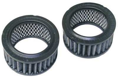 Replacement Individual Carbon Filter Round, Black, 2-Pack