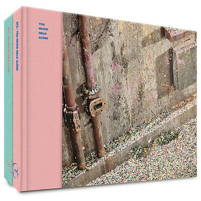 BTS-[WINGS:YOU NEVER WALK ALONE]Album 2 Ver SET + POSTER+Book+2p Card