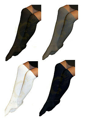 Girls & Ladies 3 Pack Of Plain Knee High Cotton Rich Everyday School Socks Work