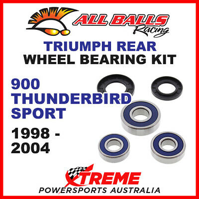 All Balls 25-1586 Triumph 900 Thunderbird Sport 1998-2004 Rear Wheel Bearing Kit