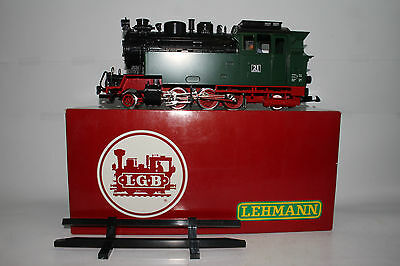 Lgb G Scale #2180S Nwe 2-6-2 Steam Locomotive Engine W/ Sound, Excellent, Boxed