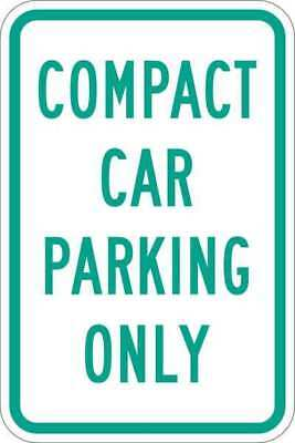 LYLE T1-1036-HI_12x18 Sign, Compact Car Parking Only, 18 x12 In