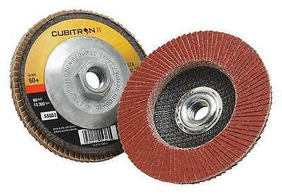 3M 00051141556031 Flap Disc, T27, 4-1/2in. x 5/8-11, 60