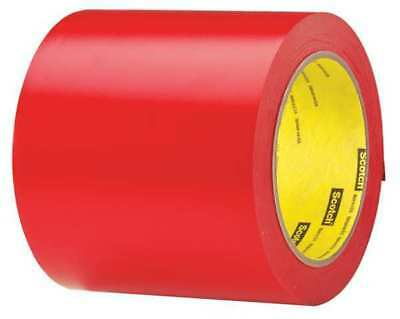 3M 471 Marking Tape,Roll,4In W,108 ft. L,Red