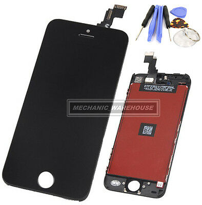 New LCD Screen Digitizer Touch Glass Lens Display Tool For Apple iPhone 5C Black