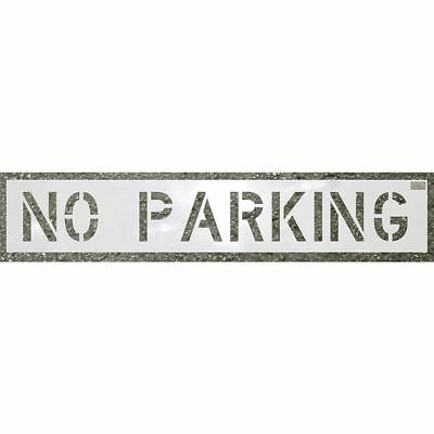 CH HANSON 70004 Stencil, No Parking, 10 x 36 In.