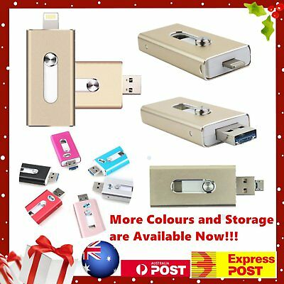 iFlash USB Storage Memory Stick OTG Flash Drive Disk For iPhone iPad iOS Android
