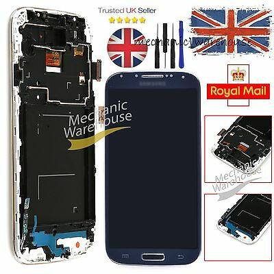 For Samsung Galaxy S4 i9505 LCD Digitizer Touch Screen Display Replacement Black