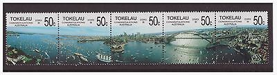 Tokelau 1988 Ships Boats in Sydney Harbour  MNH mint set stamp SG154-158
