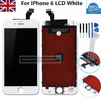 """Replacement For iPhone 6 4.7"""" White LCD Display Touch Screen Digitizer Assembly"""
