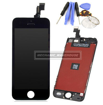 For iPhone 5C LCD Touch Screen Digitizer Retina Display Glass Lens Replacement