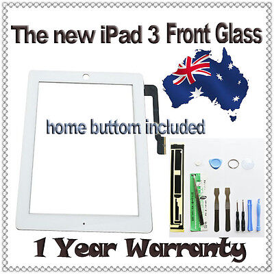 Brand New iPad HD 3 3rd Gen Digitizer Glass Touch Screen Replacement AU