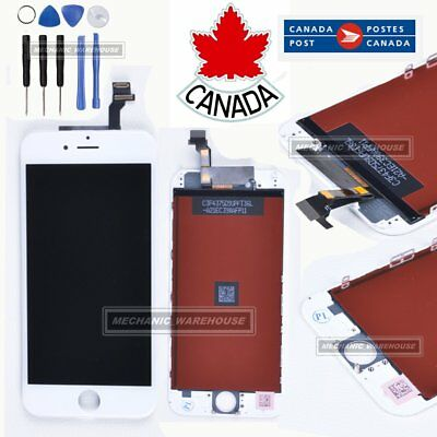 LCD Display Touch Screen Digitizer Assembly Replacement White for iPhone 6 4.7''