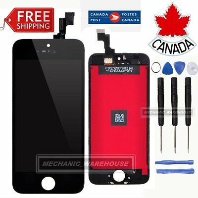 For iPhone 5S Assembly Replacement LCD Digitizer Display Touch Screen Black CA