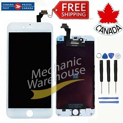 White iPhone 6 4.7'' LCD Display Touch Screen Digitizer Assembly  Replacement CA