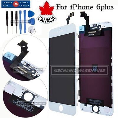 "iPhone 6 Plus 5.5"" LCD Touch Screen Display Digitizer Assembly Replacement White"