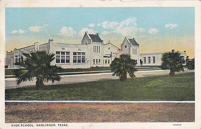 HARLINGEN , Texas, 1928 ; High School