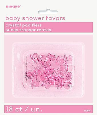Baby Shower Favors Baby shower Pacifiers blue, pink and assorted colours