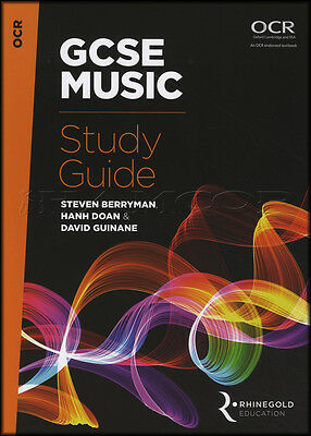 GCSE Music Study Guide OCR Sheet Music Book Exams Tests Rhinegold Education