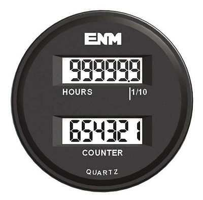 ENM T39FC48 Electronic Counter, 6 Digits, LCD