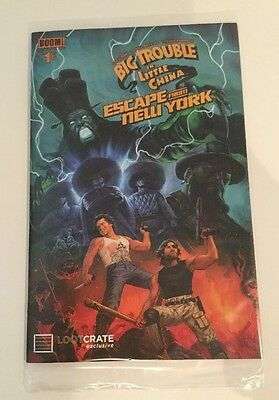 Lootcrate Exclusive Big Trouble In Little China/Escape From NY NEW Sealed