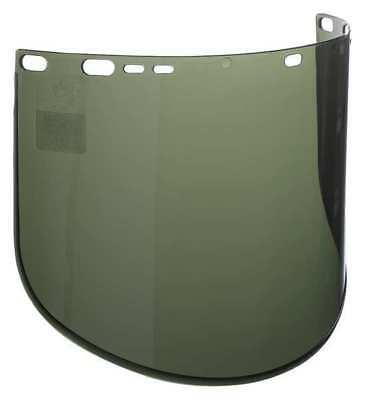 JACKSON SAFETY 29086 Face Shield Visor,Dark Green,1/16inT