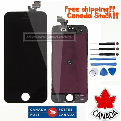 For iPhone 5 5G LCD Digitizer Touch Screen Display Assembly Replacement Black CA