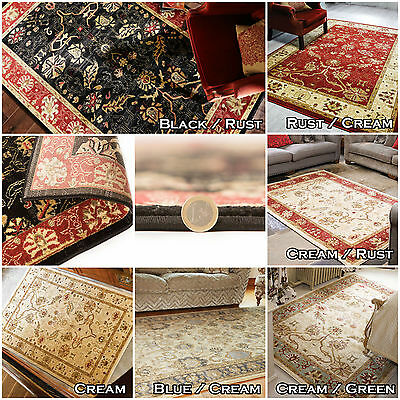 New Small X Large Soft Zeigler Elegant Classic Traditional Oriental Multi Rugs