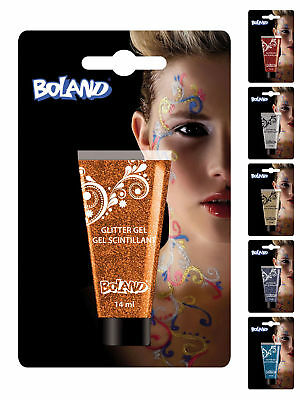 14g Tube Glittergel Party Karneval Schminke
