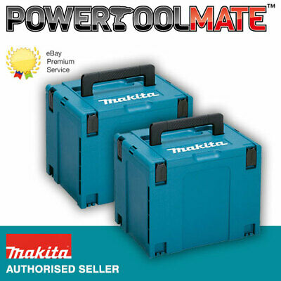 Makita 821552-6 MakPac Type 4 Stacking Connector Case *TWIN PACK*