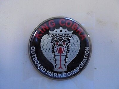 New In Bag Oem Omc 0912608 King Cobra Emblem This Is No Longer Available