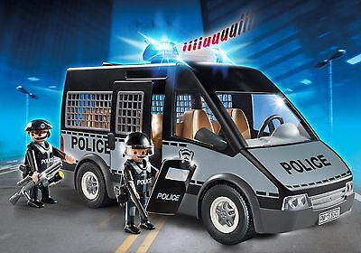 Playmobil 6043 City Action Police Van - Light & Sound - BRAND NEW!