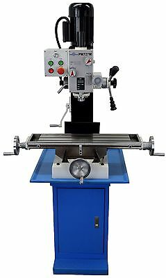 Pm-727-M Vertical Bench Top Milling Machine, 3 Year Warranty Free Shipping!