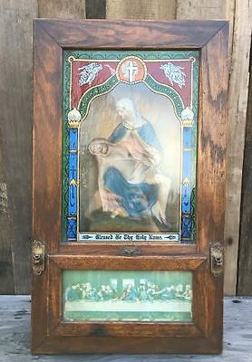 """Antique Catholic Traveling """"Blessed Be Thy Name"""" Alter ON SALE!!"""