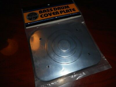 NEW - PDP Bass Drum Mount Cover Plate - CHROME, #PDAXBDMPLATE-CR