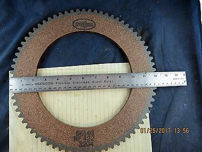 """12"""" Twin – Disc Friction Plate 6614G [A3S3]"""