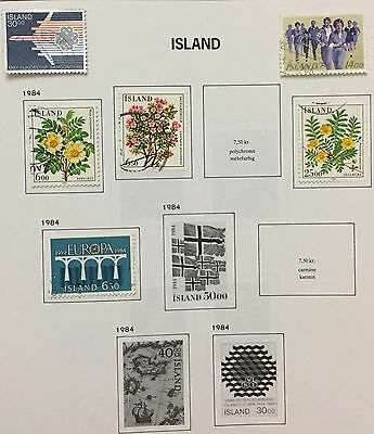 Island Iceland 1983/84 Lot Of 6 Used For Description Look At The Picture Rare