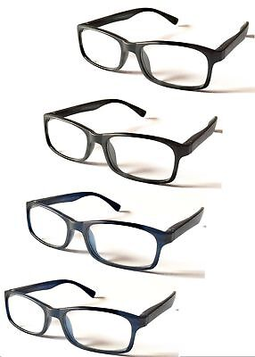 L137 High Quality Reading Glasses/Spring Hinges/Simply Classic Style/Super Value